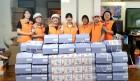 태안군 자원봉사센터, 어려운 이웃 100가구에 '행복꾸러미' 전해