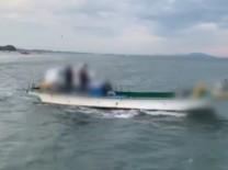 군·해경 힘모아 불법잠수기 검거